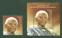 Südafrika 2018 - Nelson Mandela - Gemeinschaftsausgabe Joint-Issue - Block 160