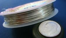 .6mm Silver plated copper round wire 22ga create wire wrapped jewelry pw019
