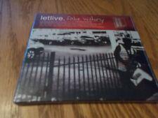 LETLIVE - FAKE HISTORY CD BRAND NEW SEALED