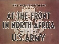 WW2 North Africa Army Battles Kasserine Pass El Alamein Classic 1940s-60s Films