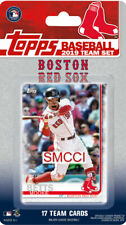 Boston Red Sox 2019 Topps Factory Sealed Team Set Pedroia Betts Benintendi Plus