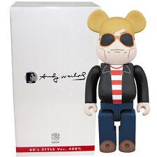 Medicom Be@rbrick Bearbrick Andy Warhol 60's Style Ver. 400% Figure