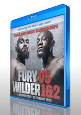 Tyson Fury vs. Deontay Wilder I & II on Blu-ray