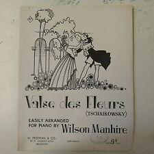 easy piano arr wilson manhire VALSE DES FLEURS