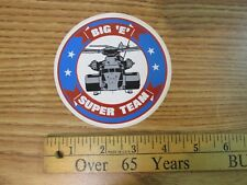 BIG E SUPER TEAM STICKER