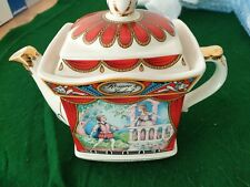 Vintage Sadler Teapot 'Romeo & Juliet' Classic Collection 4445 Made In England