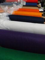 Felt Acrylic Fabric Custom cut per METER 16 Solid colours Width x 90cm