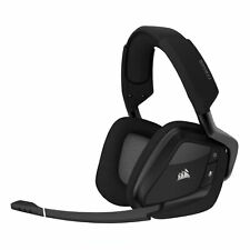 Corsair Void Elite RGB Wireless Gaming-Headset Carbon Over-Ear Surround-Sound