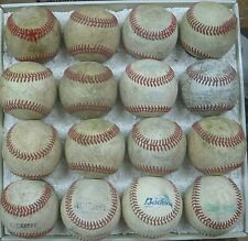 16 Leather Covered Practice Baseballs Official Rawlings, Wilson +