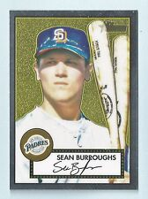 SEAN BURROUGHS 2001 TOPPS HERITAGE CHROME /552 PADRES