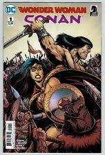 Wonder Woman Conan 1 2 3 4 5 6 complete series set lot DC & Dark Horse reg cover