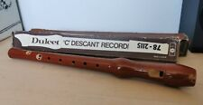 Recorder Instrument - Dulcet C Descant Recorder - West GERMANY 78-2115
