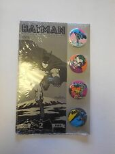 Batman Button Collection    Neal Adams  Jim Aparo    Original Package     1989