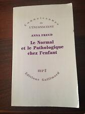 L48> Le Normal et la Pathologique chez l'enfant - Anna Freud - 1965