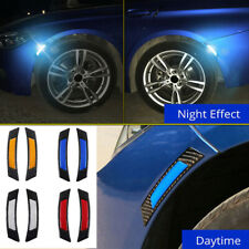 Car Door Edge Guard Safety Warning Reflective Sticker Tape Decal Accessories x2