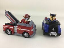 Paw Patrol Rescue Pups Emergency Vehicles Chase Police Fire Truck Marshall Toys