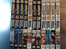 Naruto Manga Mixed Volumes - 11 total