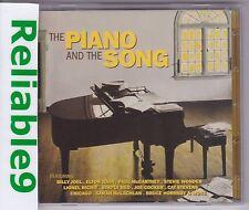 Billy Joel+Elton John+Stevie Wonder- The piano & the song 2CD New not sealed AUS
