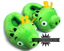 ANGRY BIRDS MAIALE CIABATTE pantofole peluche slippers pig re piggies cosplay