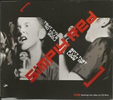 SIMPLY RED Ain't that A lot w/ EDIT & UNRELEASED & LIVE VIDEO CD single SEALED