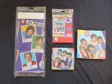 (4) Different One Direction 1D Birthday Party Kit Items Invitations Decorations