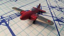 Vintage Hubley Kiddie Toy Airplane #430 Red