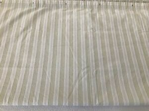 """Simply Shabby Chic ~ GREEN STRIPE  SHOWER CURTAIN ~ 72"""""""