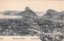 Postcard Panorama de Botafogo Rio de Janeiro Brazil