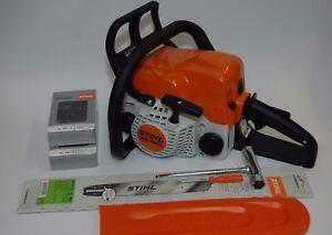 Stihl MS 180 C-BE Motorsäge + Schwert +  Sägekette 1,9 PS 1,1mm  NEU MS180