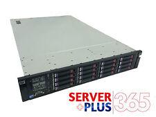 HP ProLiant DL380 G7 7.2TB Storage, 2x 3.06GHz HexCore, 128GB RAM, 16x 450GB SAS
