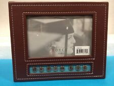 Cynthia Royce dream big  Picture Frame 4x6 Brown and Blue Graduation