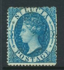 1860 St Lucia 4d SG 2 Mint Hinged Cat £225
