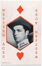 Dale Robertson, Western Aces Cowboy Penny Arcade Card (WCL)