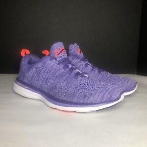 APL Women's 8 Techloom Pro W Propelium Purple Sneakers Running Shoes