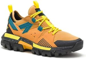 Caterpillar Mens RAIDER SPORT Work Casual Athletic Yellow Shoes Sneakers