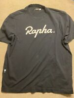 Mens Rapha Cycling Embroidered Jersey Shirt Large L