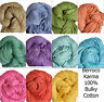 Berroco Karma Bulky 100% Cotton Mesh Tape Yarn Arm Loom Knit Crochet FS Offer