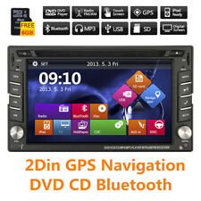 Car Stereo GPS Head Unit Bluetooth DVD CD Player Bluetooth Auto Radio iPod