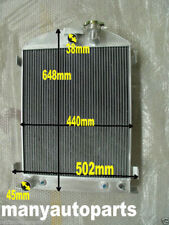 3 ROW 1932 32 FORD HIBOY HI-BOY CHOPPED FORD ENGINE Aluminum Radiator New