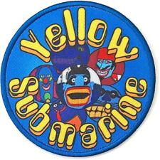 More details for official licensed - the beatles - yellow submarine baddies circle sew on patch