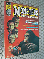 MONSTERS OF THE MOVIES #1 MARVEL CLASSIC HORROR MAGAZINE HIGHER GRADE