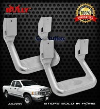 "Pair Bully 10"" Aluminum Side Steps Dodge Ram Dakota Raider Pickup Ram 1500 2500"