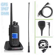 TYT MD-390 ★GPS★ UHF +SPEAKER +CABLE DMR IP67 Waterproof Dual Band Radio EMISORA