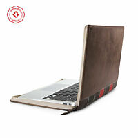 "Twelve South BookBook for MacBook Air 11"", Vintage Brown Leather Case/Sleeve"
