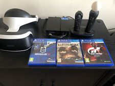 Sony PlayStation VR Headset Bundle +PlayStation Move + 3 Games