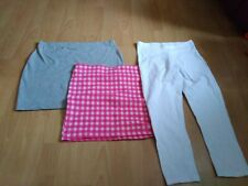 Ladies Size 16 Stretch Leggings And Two Tube Skirts