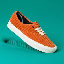 VANS Ladies Classic Slip On COMFYCUSH AUTHENTIC Trainers Shoes Orange New Size 4