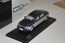 Maybach 62 metallic dunkelblau silber  White Box 1:43