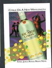 T479 Chrome Postcard 4x6 Max rack Bacardi Limon Citrus Rum