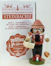 "Steinbach German Wooden Nutcracker Chubby ""Mushroompicker� S1359 New"